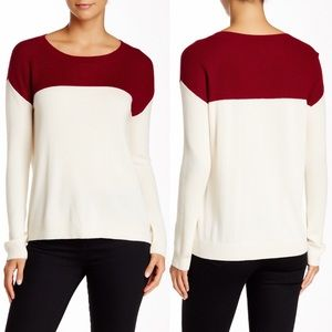 Joie Camilla Two Toned Sweater